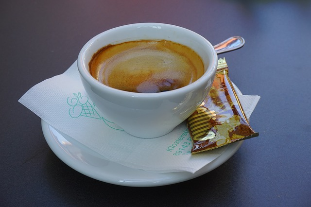 Frischer Cappuccino