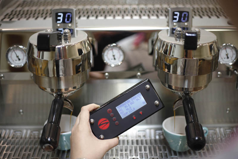 Espresso-Temperatur beim brühen
